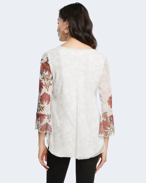 T-shirt manica lunga Desigual SHEILA Bianco – 65485