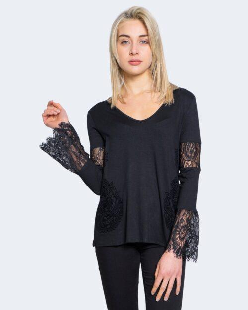 T-shirt manica lunga Desigual Ts amelia Nero – 59103