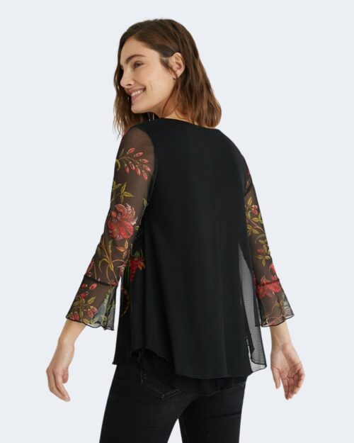 T-shirt manica lunga Desigual SANDRINI Nero – 65484