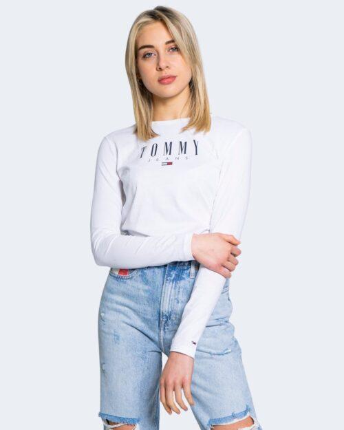 T-shirt manica lunga Tommy Hilfiger SLIM LALA Bianco – 64881