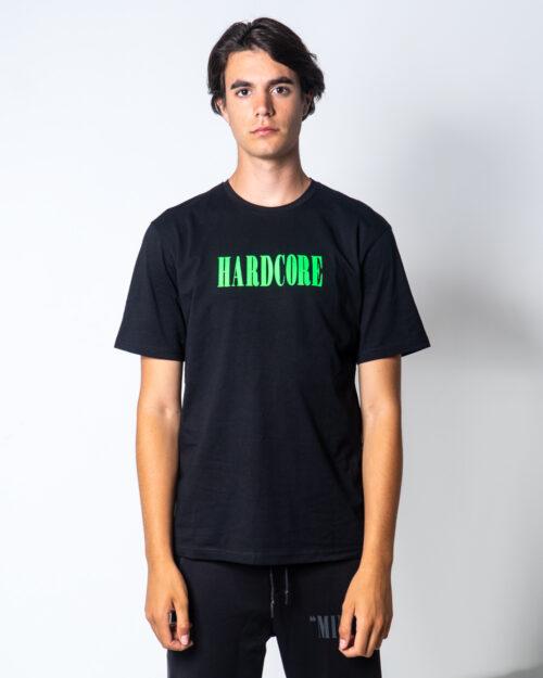 T-shirt Minimal SCRITTA LOGO FLUO Nero – 45563