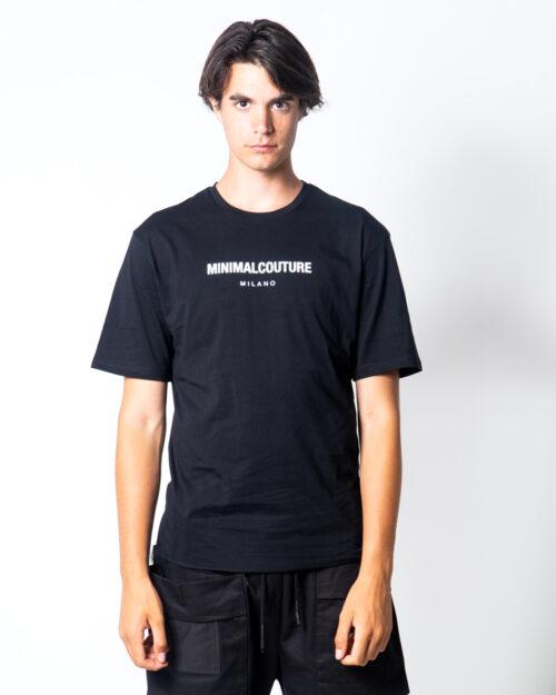 T-shirt Minimal SCRITTA LOGO PICCOLA Nero – 45562
