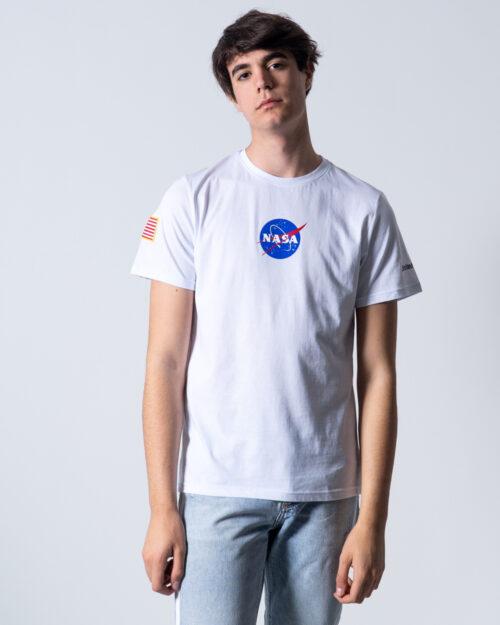 T-shirt Nasa logo frontale Bianco – 42465