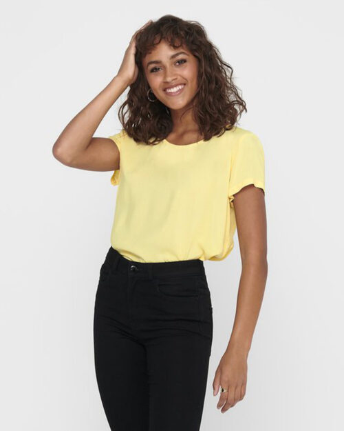 T-shirt Only FIRST ONE Giallo – 45413