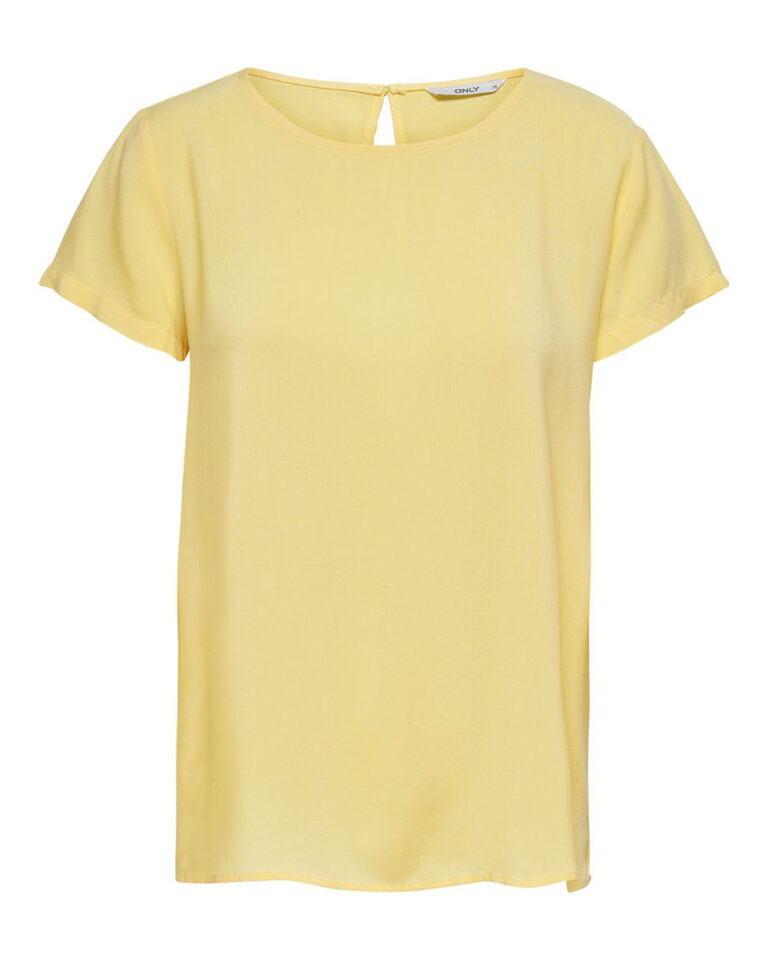 T-shirt Only FIRST ONE Giallo - Foto 4