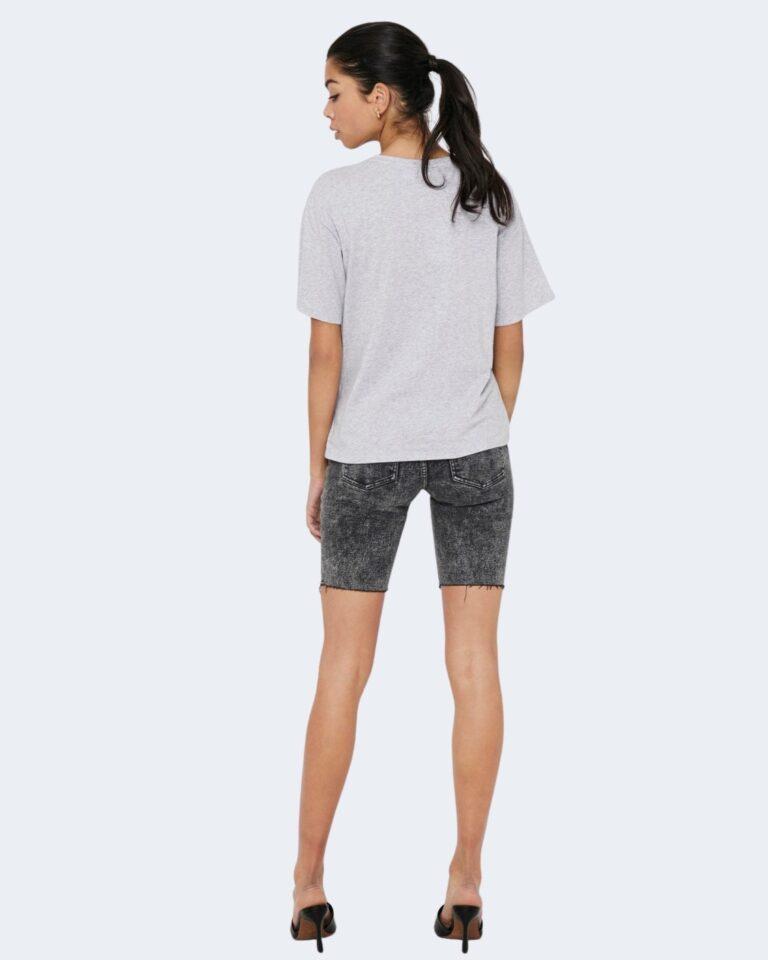 T-shirt Jacqueline de Yong SEOUL Grigio Chiaro - Foto 3
