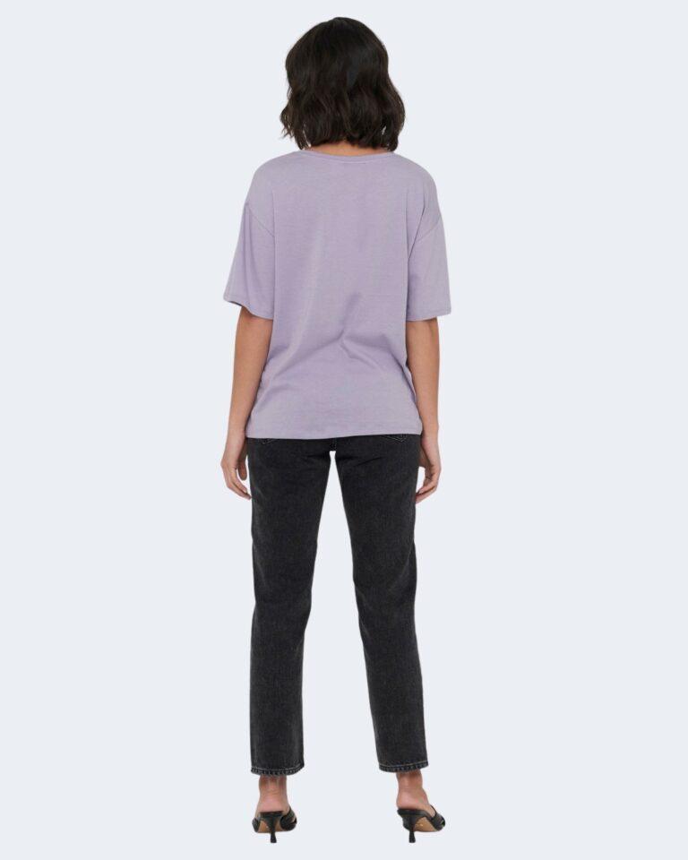 T-shirt Jacqueline de Yong SEOUL Lilla - Foto 2