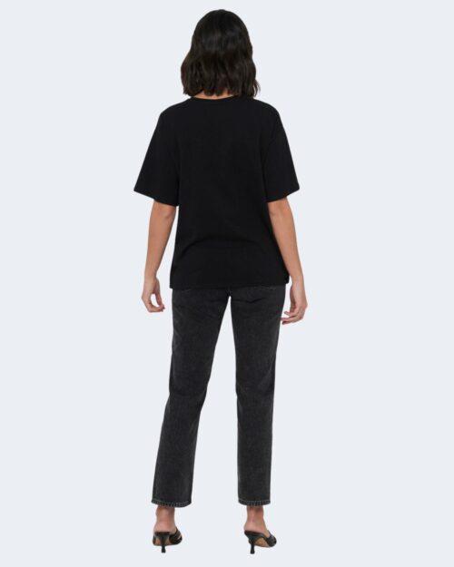 T-shirt Jacqueline de Yong SEOUL Nero - Foto 4