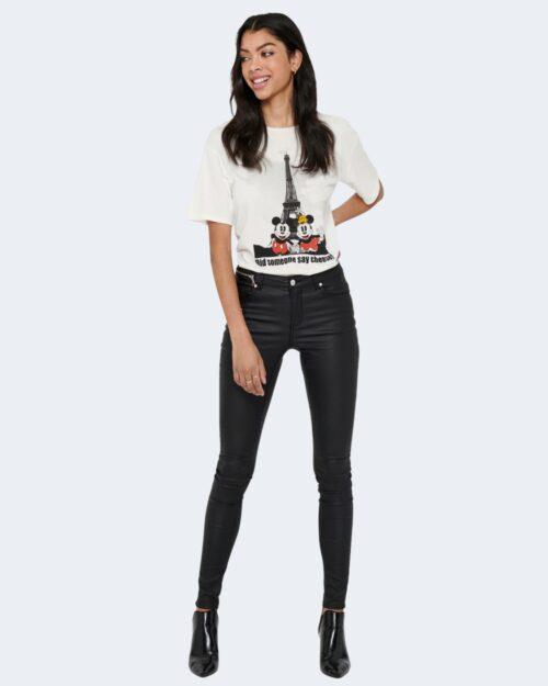 T-shirt Jacqueline de Yong SEOUL Panna - Foto 2