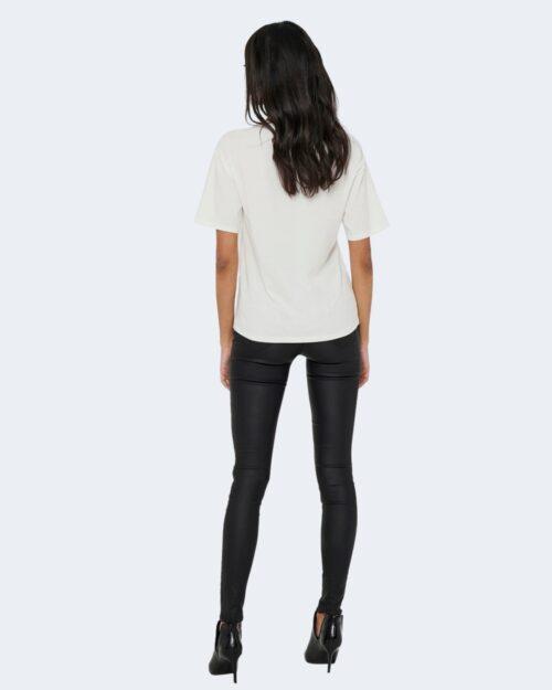 T-shirt Jacqueline de Yong SEOUL Panna - Foto 3