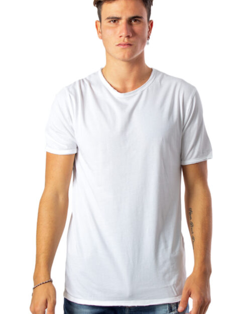 T-shirt Only & Sons ALBERT WASHED O-NECK NOOS BIANCA Bianco - Foto 1