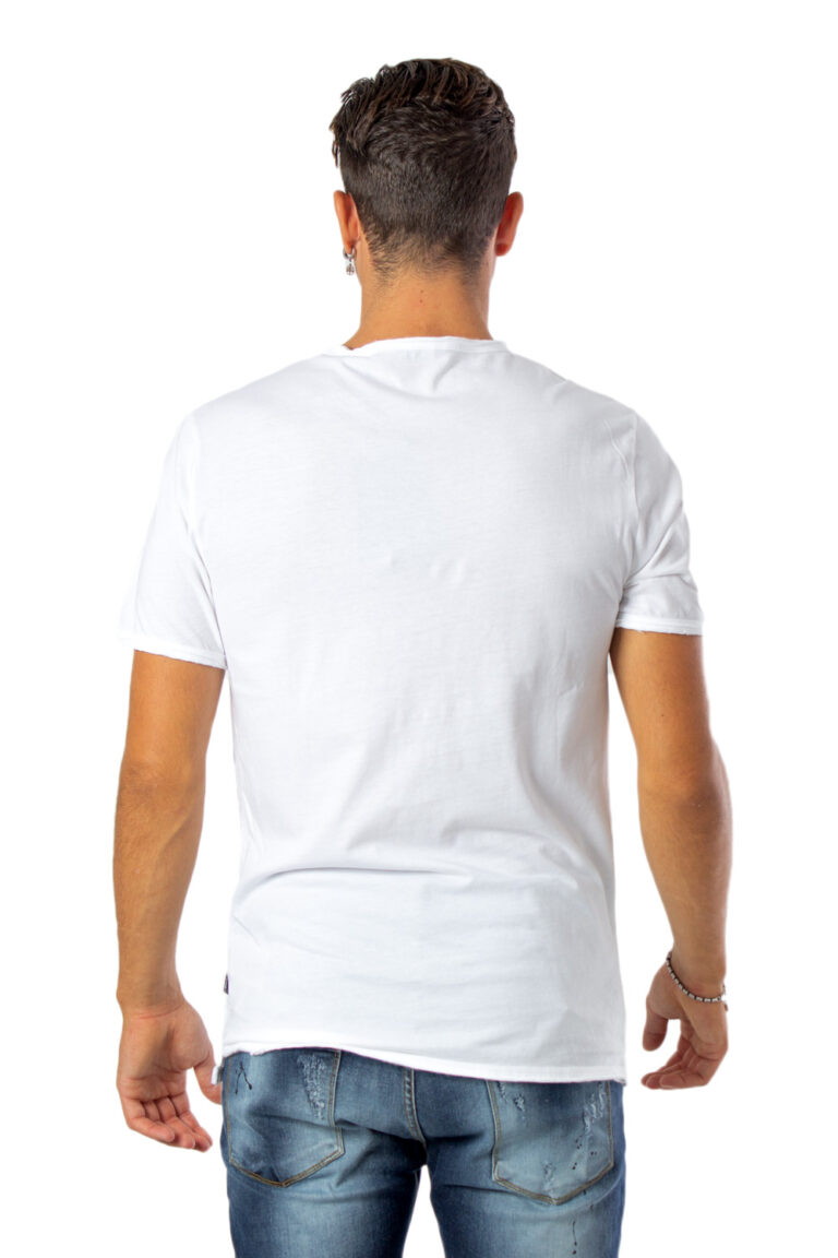 T-shirt Only & Sons ALBERT WASHED O-NECK NOOS BIANCA Bianco - Foto 3