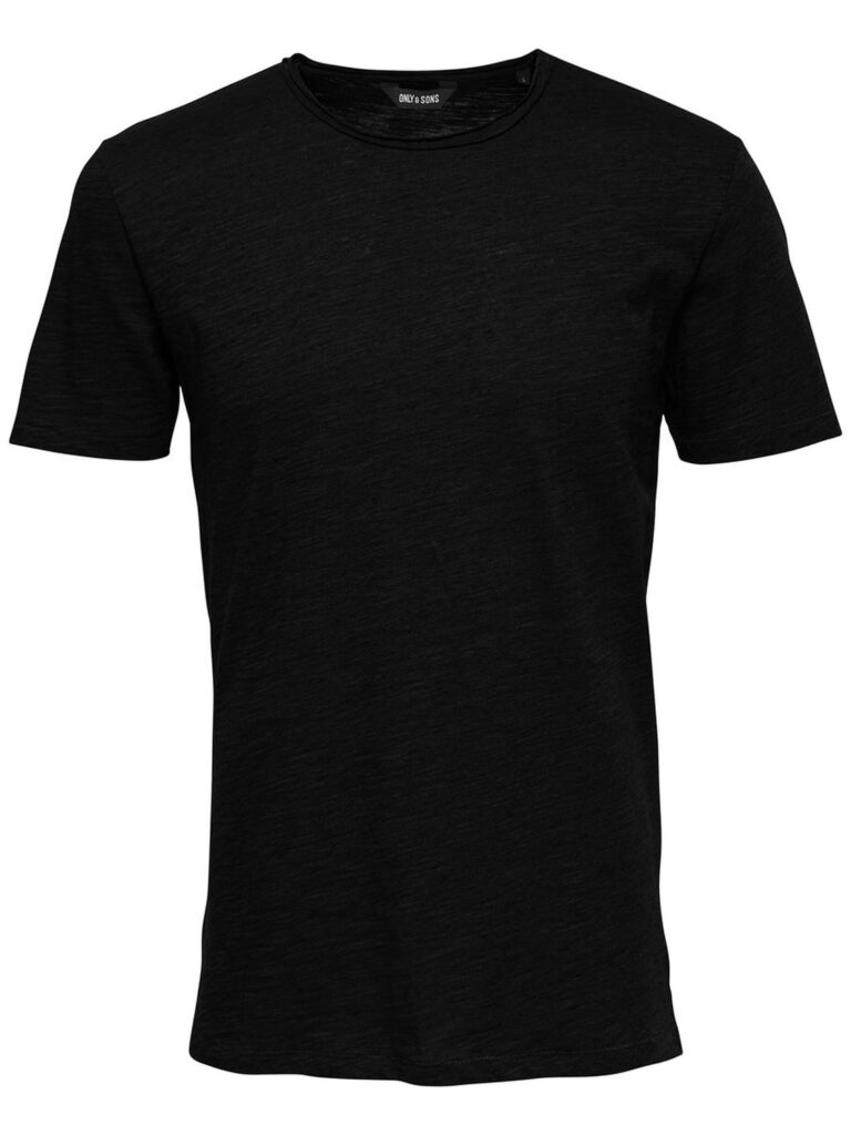 T-shirt Only & Sons ALBERT NEW SS TEE NOOS Nero - Foto 2