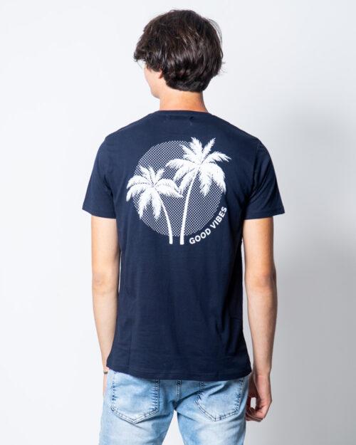 T-shirt Over-d GOOD VIBES Blu – 45309