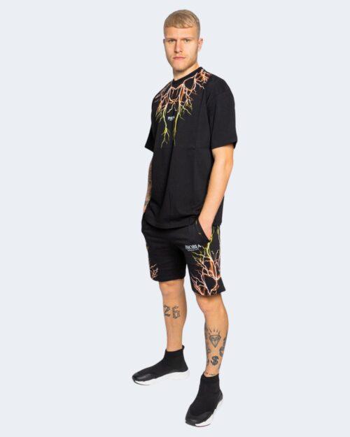 T-shirt Phobia ORANGE LIGHTING Nero – 67513