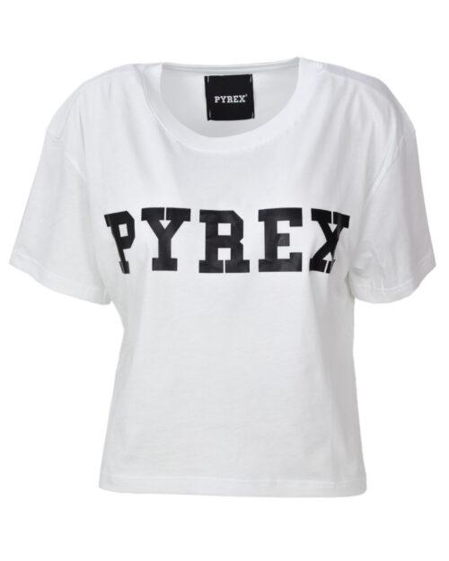 T-shirt Pyrex MAGLIA DONNA JERSEY CORTA Bianco - Foto 1