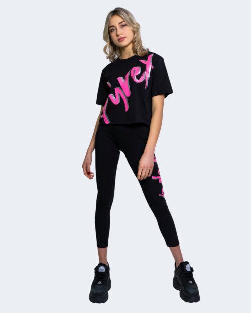 T-shirt Pyrex STAMPA LOGO CENTRALE Nero – 62907