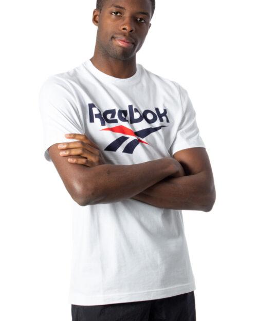 T-shirt Reebok Cl F Vector Tee Bianco – 40270