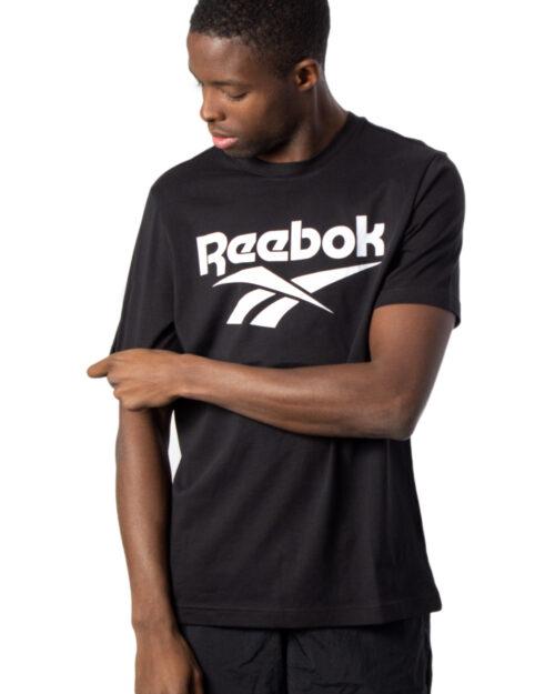 T-shirt Reebok CL F VECTOR TEE Nero - Foto 1