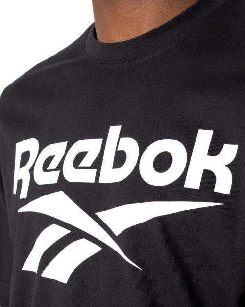 T-shirt Reebok CL F VECTOR TEE Nero - Foto 3