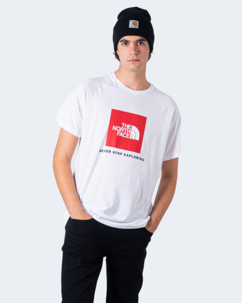 T-shirt THE NORTH FACE RAG RED BOX TE Bianco - Foto 2