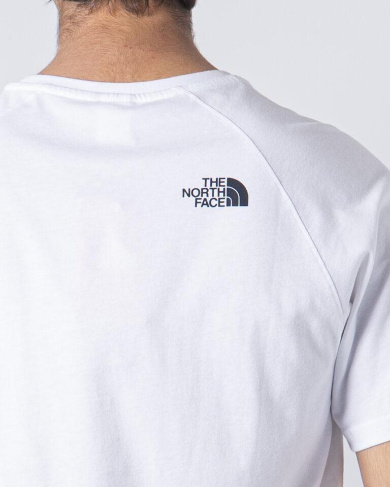 T-shirt THE NORTH FACE RAG RED BOX TE Bianco - Foto 3