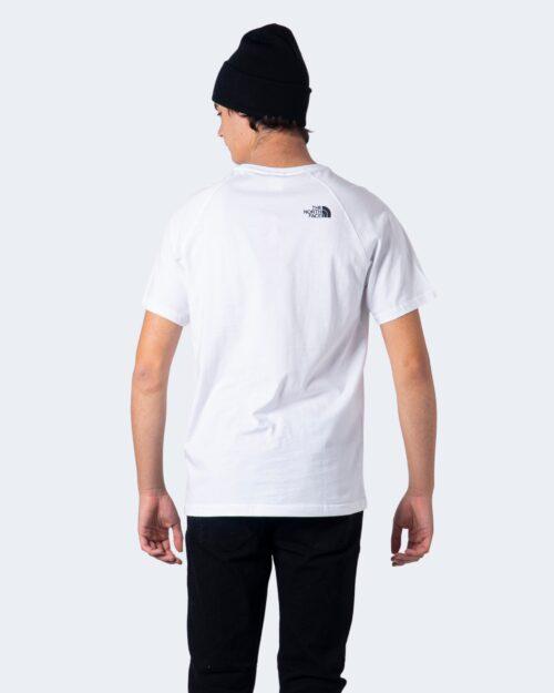 T-shirt THE NORTH FACE RAG RED BOX TE Bianco - Foto 4