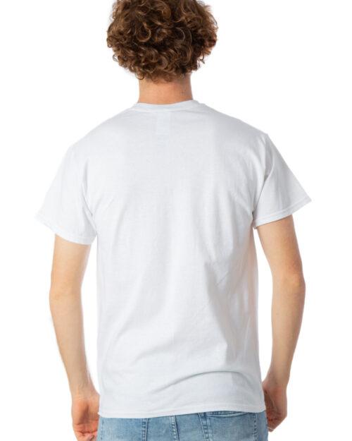 T-shirt Thrasher SKATE AND DESTROY Bianco – 28746
