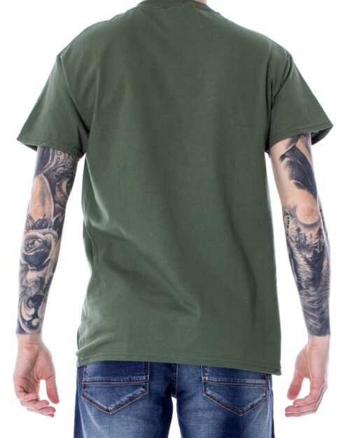 T-shirt Thrasher SKATE MAG COLOR Verde Oliva – 23534