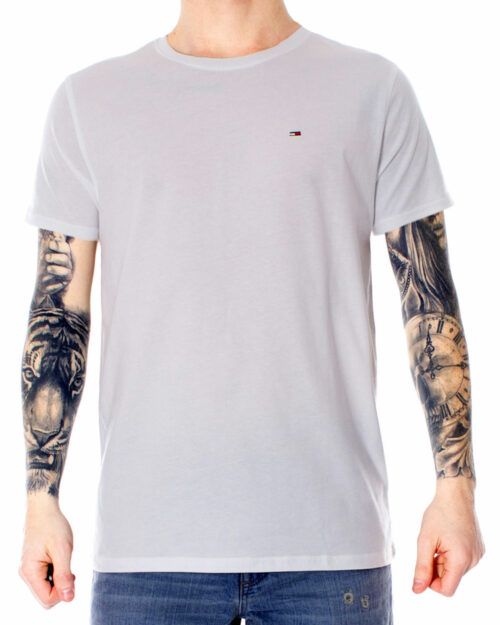 T-shirt Tommy Hilfiger Jeans ORIGINAL Bianco - Foto 1