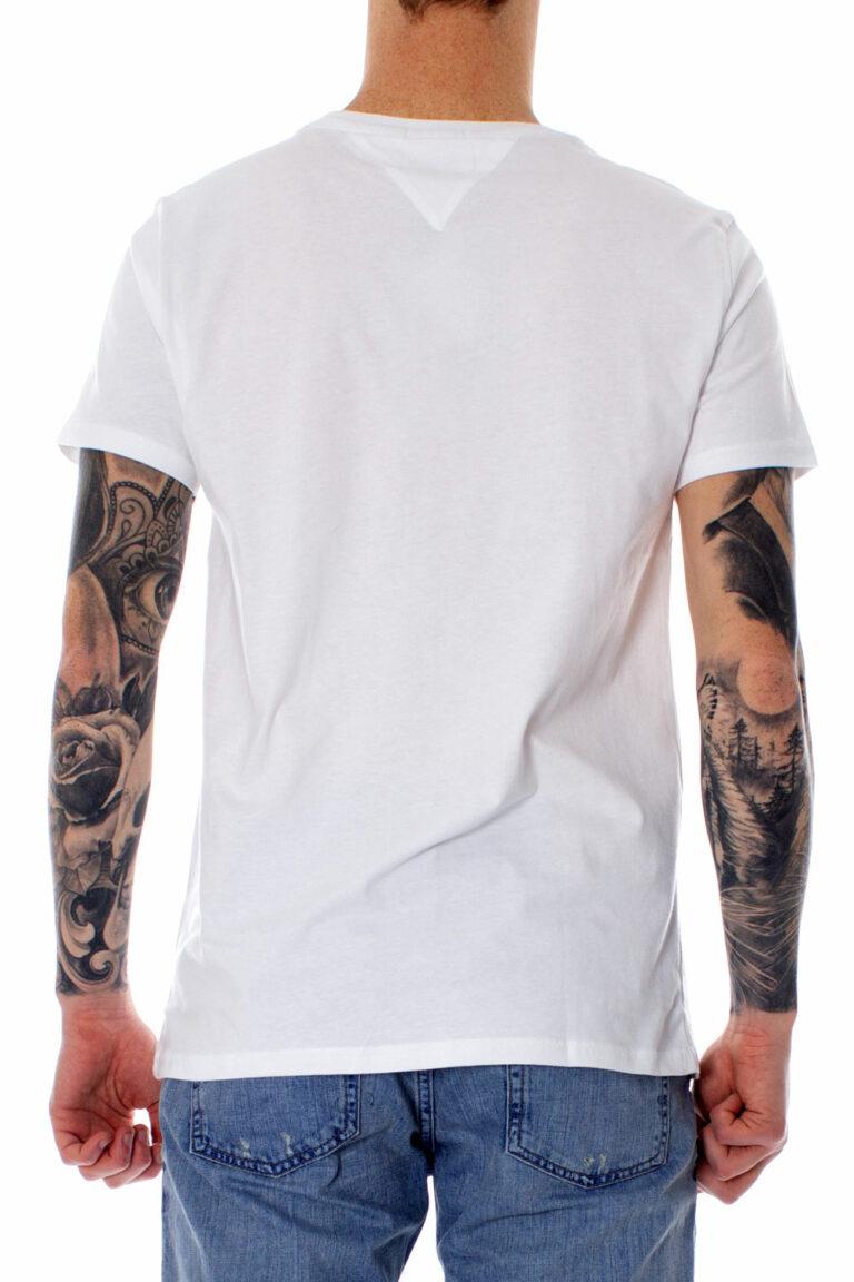 T-shirt Tommy Hilfiger Jeans ORIGINAL Bianco - Foto 2