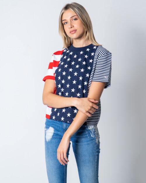 T-shirt Tommy Hilfiger AMERICANA Blu – 52738