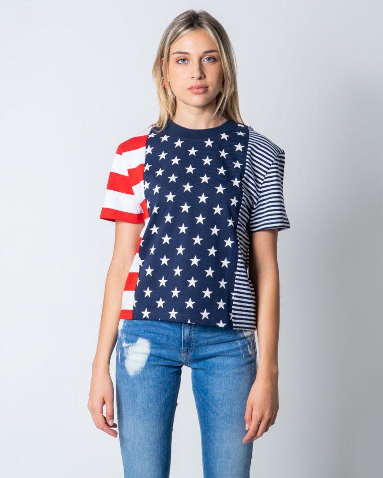 T-shirt Tommy Hilfiger Jeans AMERICANA Blu - Foto 2