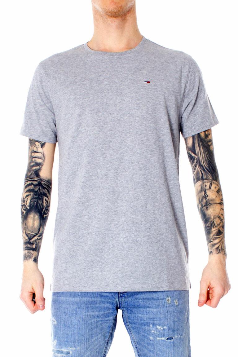 T-shirt Tommy Hilfiger Jeans ORIGINAL Grigio Chiaro - Foto 1