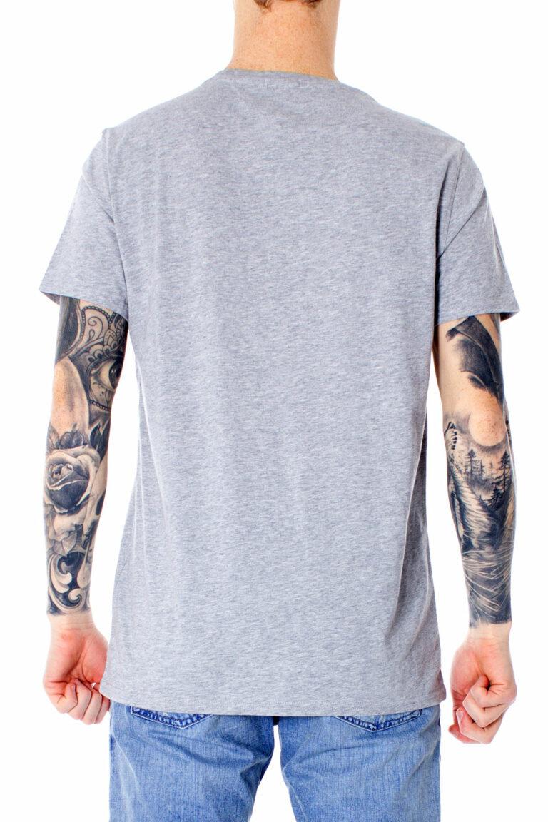 T-shirt Tommy Hilfiger Jeans ORIGINAL Grigio Chiaro - Foto 2