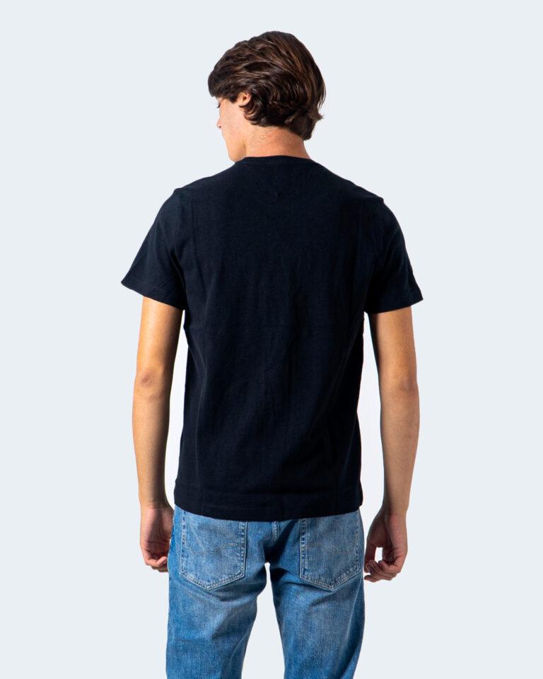 T-shirt Tommy Hilfiger Jeans Badge Nero - Foto 2