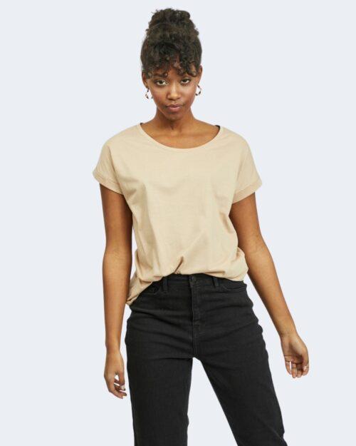 T-shirt Vila Clothes DREAMERS PURE Beige – 62960