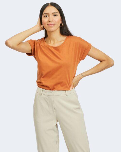 T-shirt Vila Clothes DREAMERS PURE Mattone – 62960