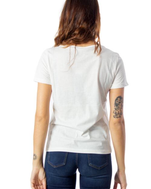 T-shirt Vila Clothes BIRTHA T-SHIRT /KA Panna - Foto 2