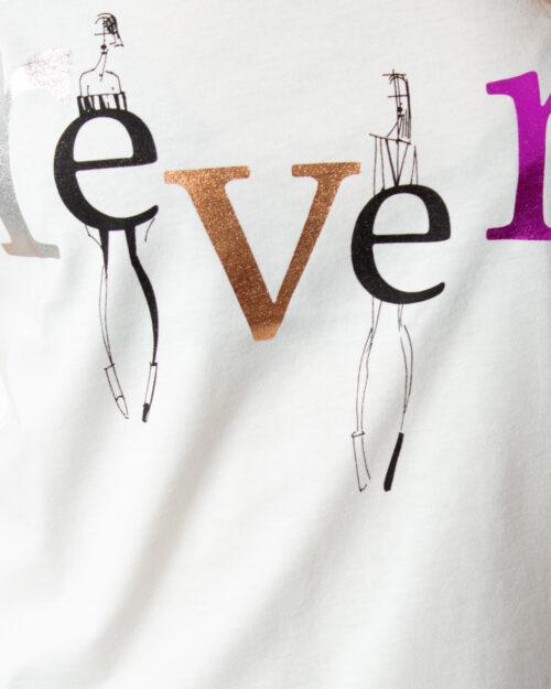 T-shirt Vila Clothes BIRTHA T-SHIRT /KA Panna - Foto 3