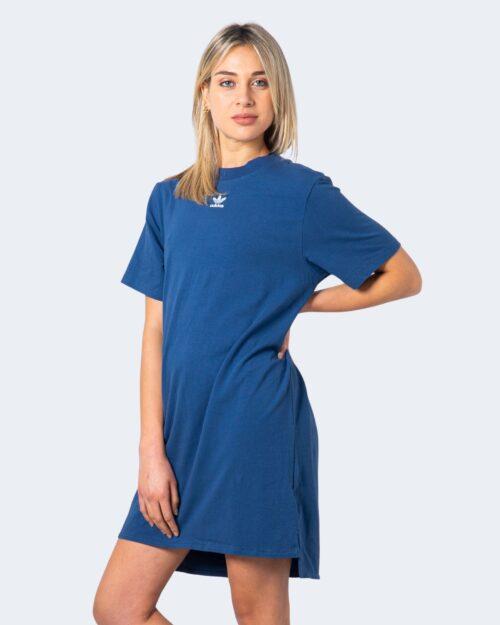 Vestito corto Adidas DRESS Blu Chiaro - Foto 3