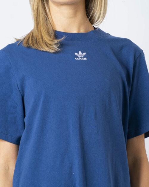 Vestito corto Adidas DRESS Blu Chiaro - Foto 4