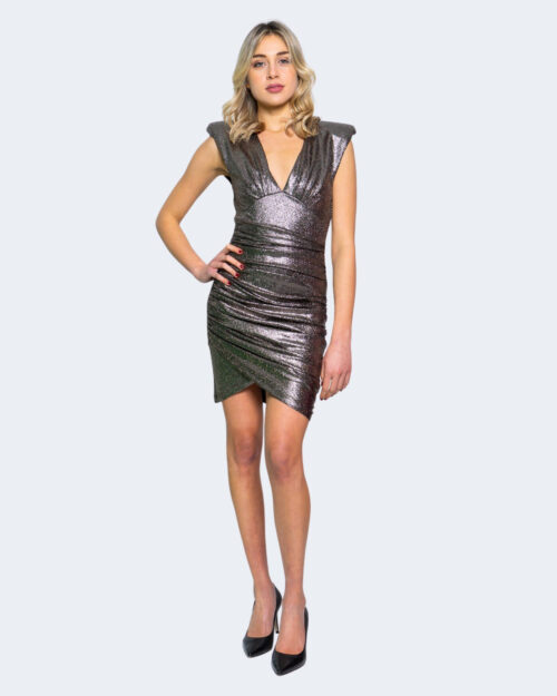 Vestito corto Aniye By WRAP DRESS KRIS Antracite – 62909