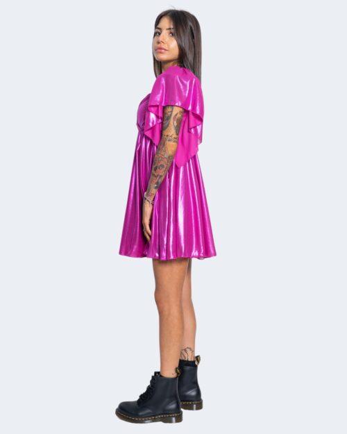 Vestito corto Aniye By DOLL DRESS LAMIN Fuxia – 62886