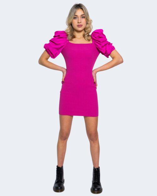 Vestito corto Aniye By DRESS TANNI Fuxia – 62890