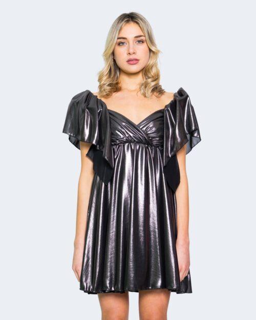 Vestito corto Aniye By DOLL DRESS LAMIN Nero – 62886