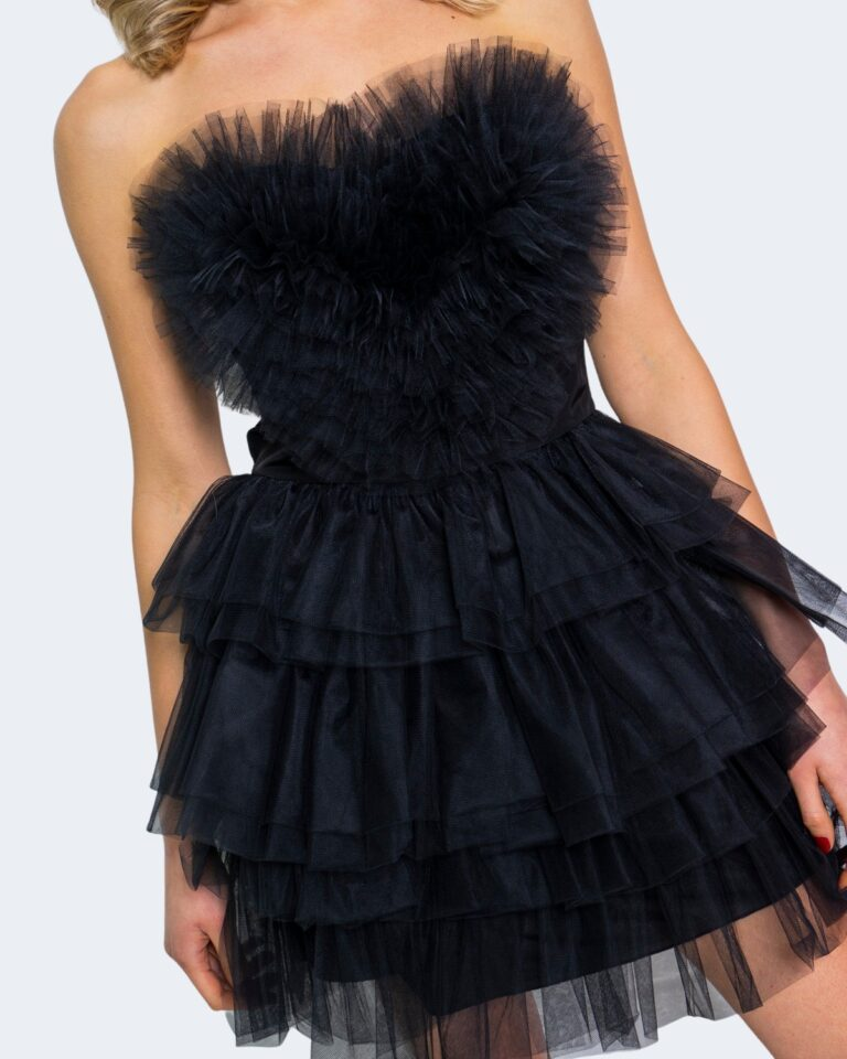 Vestito corto Aniye By HEART DRESS NINA Nero - Foto 4