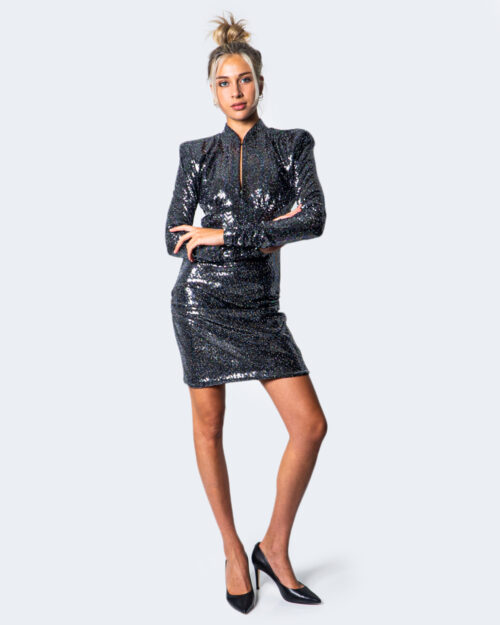 Vestito corto Aniye By OLGA GLITTER Nero – 54534