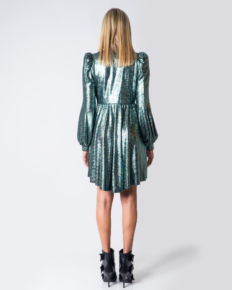 Vestito corto Aniye By ARIEL Verde - Foto 4