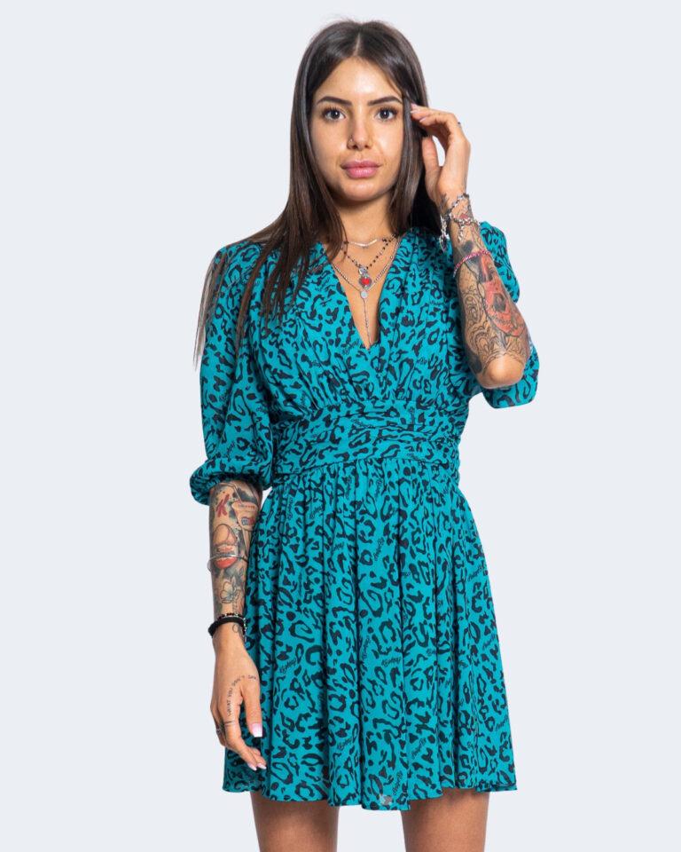 Vestito corto Aniye By MINI MINDY Verde - Foto 1